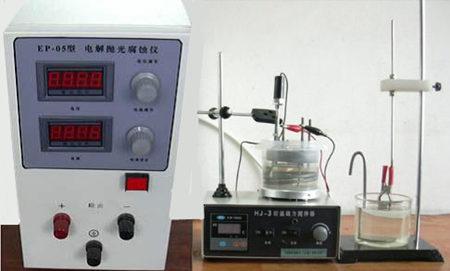 product introduction ep-05 型 电解抛光腐蚀仪,利用电化学原理